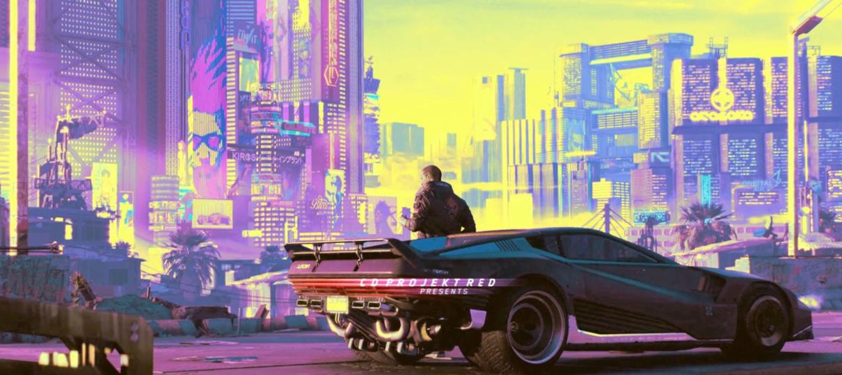 Cyberpunk 2077 terá motos pilotáveis