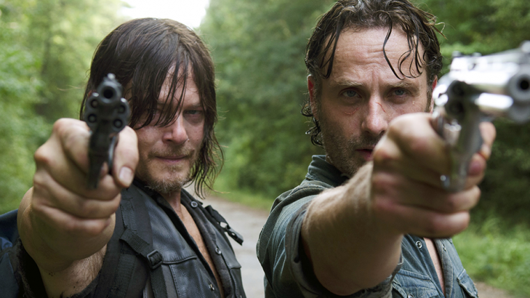 The Walking Dead | Norman Reedus posta foto homenageando Andrew Lincoln