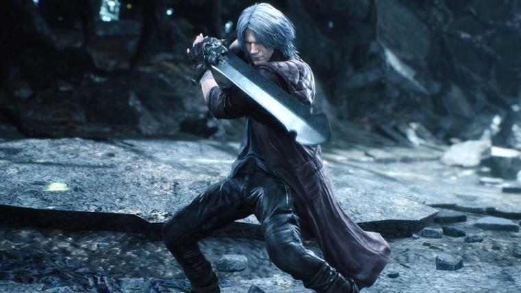 Dante usa motocicleta como arma em novas imagens de Devil May Cry 5