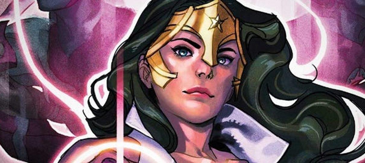 Tempos de amor: a Mulher-Maravilha agora é uma Lanterna Violeta
