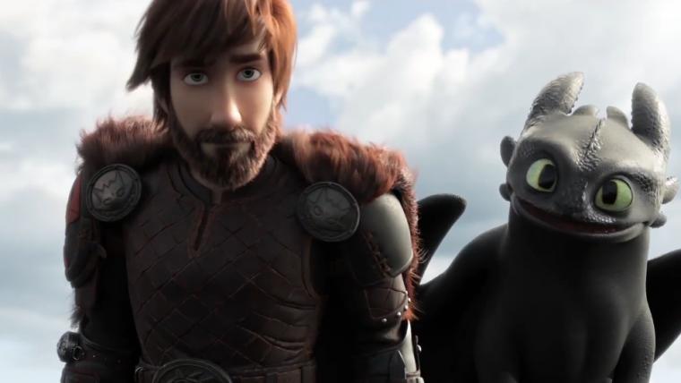 Soluço e Banguela têm uma nova aventura no trailer de Como Treinar o Seu Dragão 3