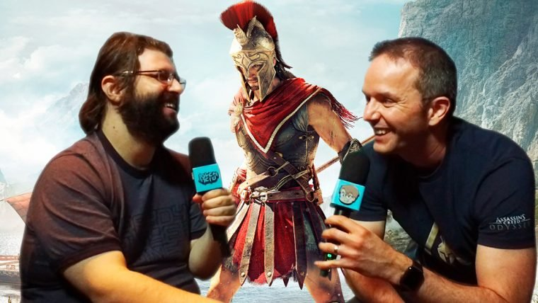 Assassin's Creed Odyssey  | This is Sparta! Com o produtor do jogo