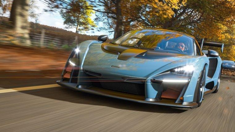 Perdendo a carteira de motorista na demo de Forza Horizon 4!
