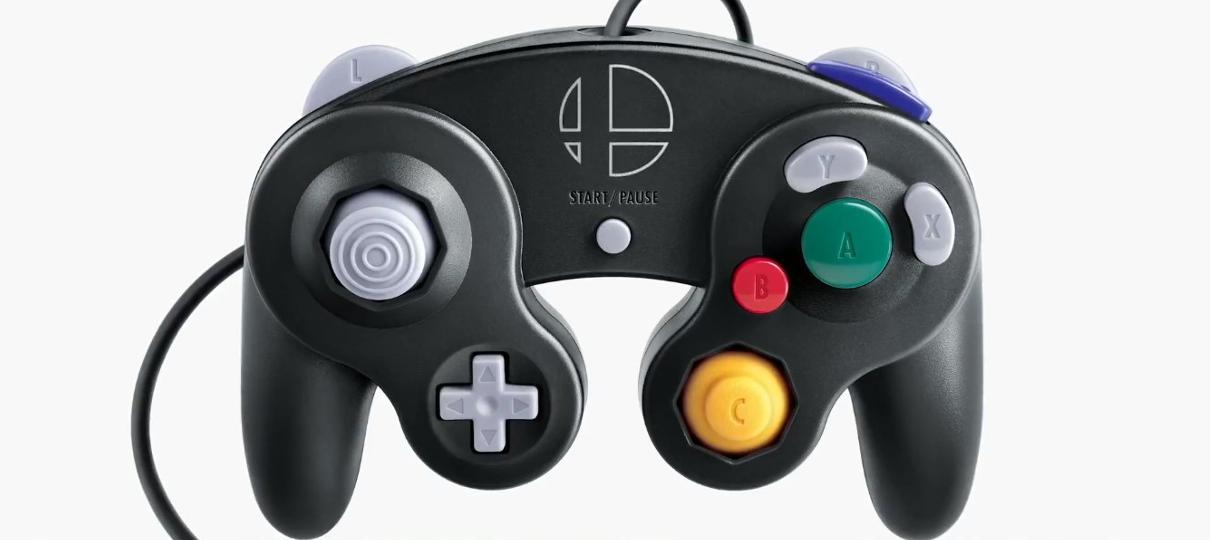 Para comemorar a chegada de Smash Bros, controle do Game Cube será compatível com Switch