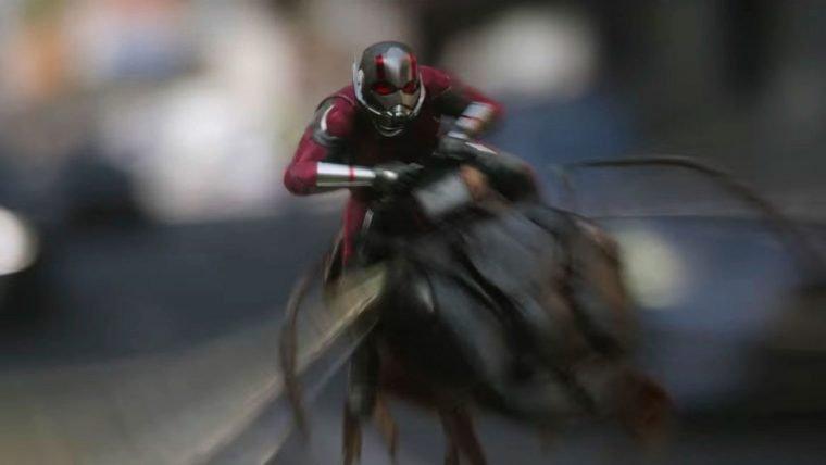 Homem-Formiga e a Vespa | Herói encontra um inimigo na natureza