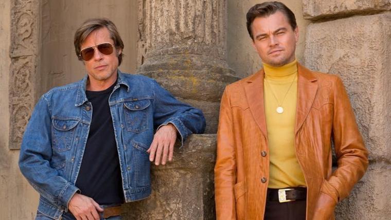 Leonardo DiCaprio e Brad Pitt aparecem em primeira imagem de Once Upon A Time in Hollywood