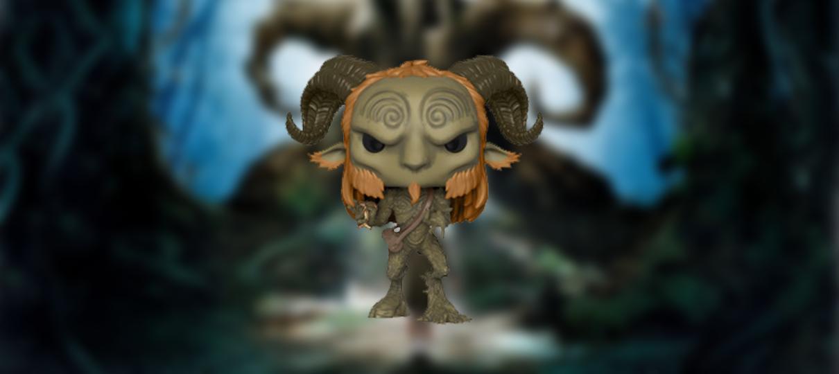 As versões Funko Pop! dos personagens de O Labirinto do Fauno são um pouco menos terríveis