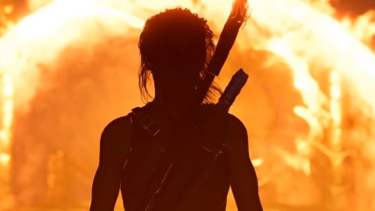 Jogamos! Lara Croft enfrenta a culpa em gameplay insano de Shadow of the Tomb Raider