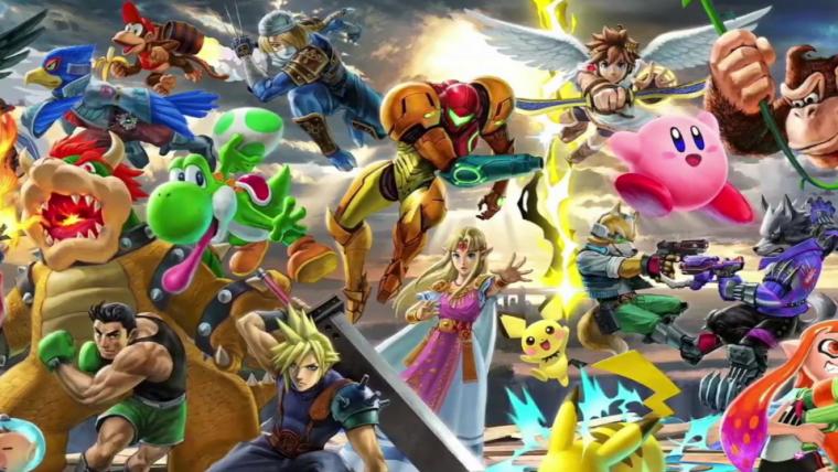 Muitos personagens se enfrentam em novo trailer de Super Smash Bros. Ultimate!