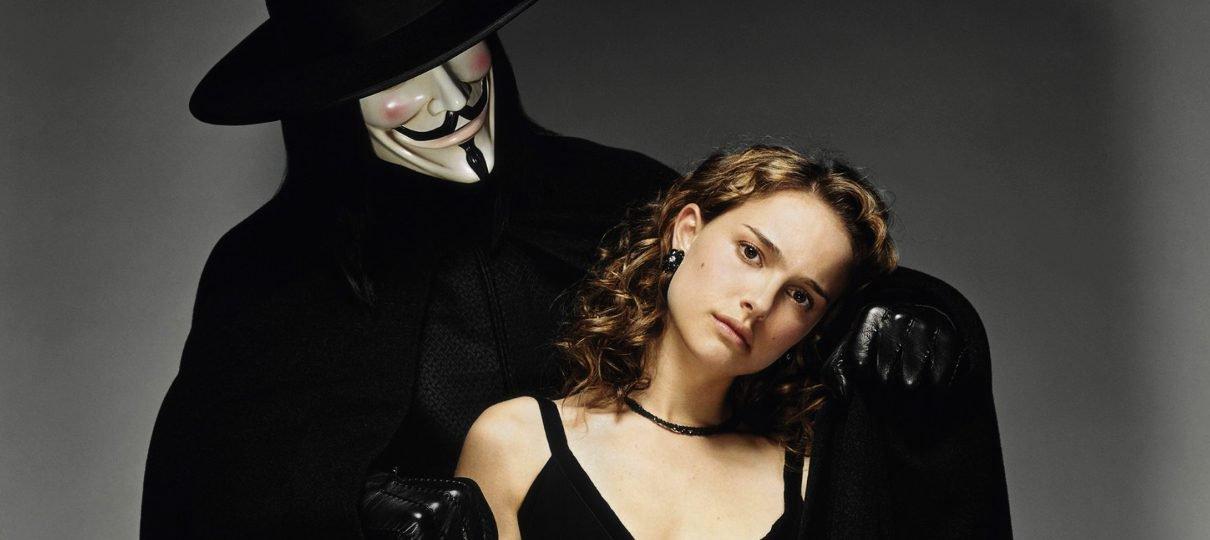Natalie Portman gostaria de fazer uma sequência de V de Vingança