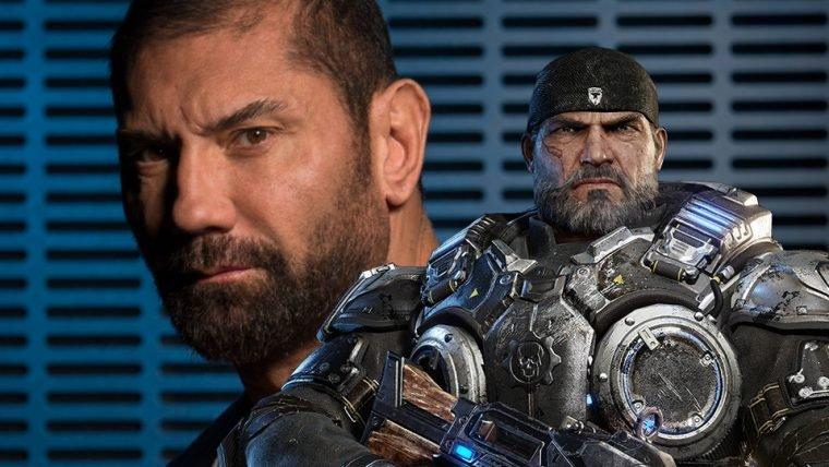 Dave Bautista quer ser Marcus Fenix em um filme de Gears of War