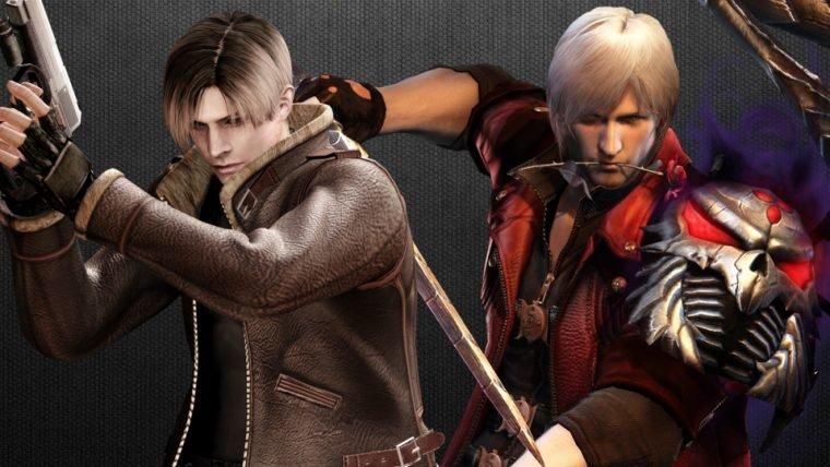 Domínio de Devil May Cry 5 é registrado no Japão e o de Resident Evil 2 é atualizado