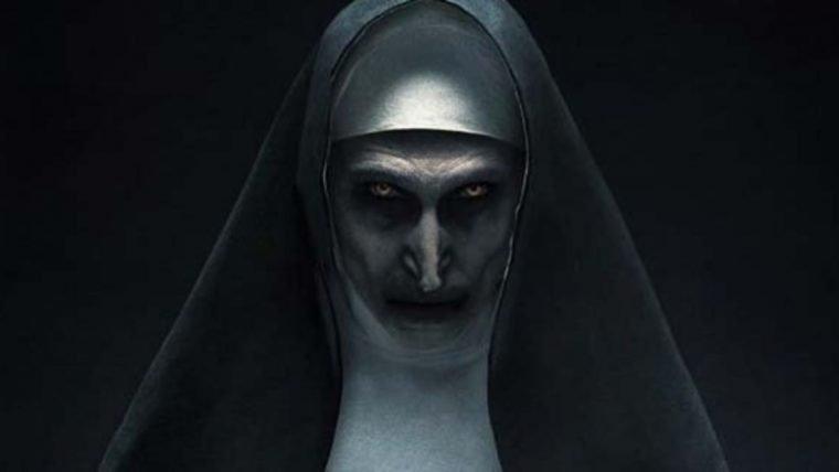 The Nun | Freira endemoniada estampa pôster do spin-off de Invocação do Mal
