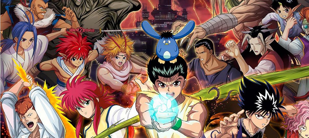 Yu Yu Hakusho   Capa do primeiro arco em Blu-ray é revelada