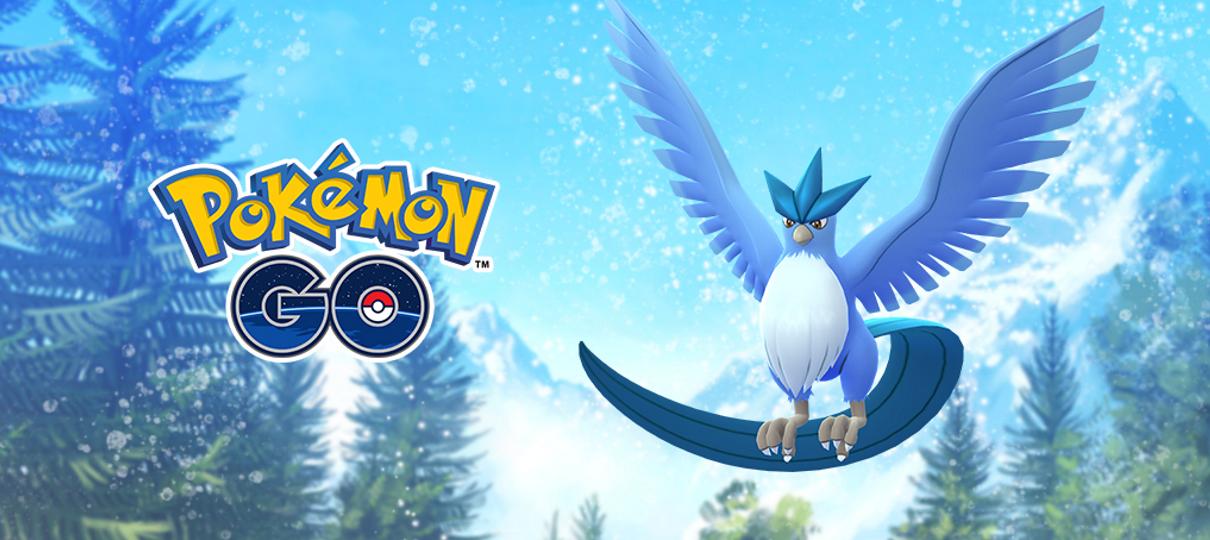 Pokémon GO   Articuno shiny estará disponível hoje (7) no jogo