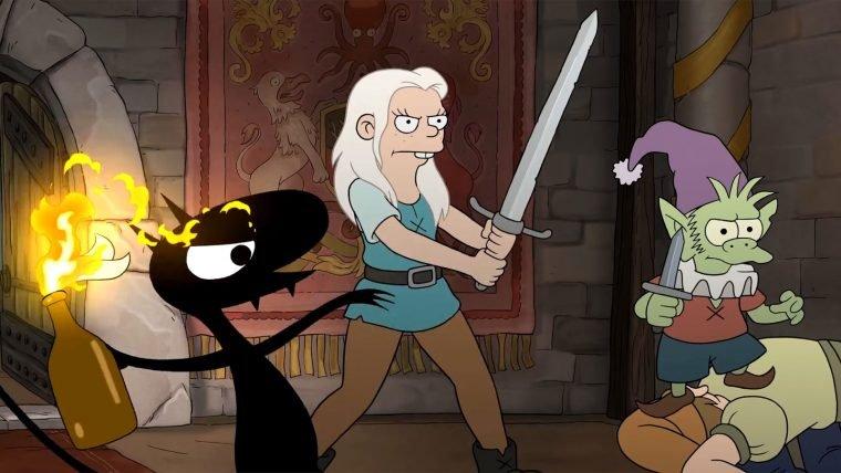 (Des)encanto   Conheça os personagens da nova série de Matt Groening