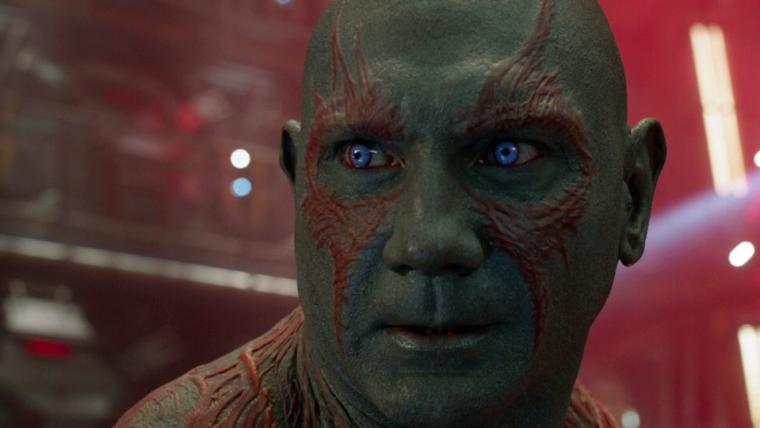 Caso James Gunn é mais importante que o futuro de Guardiões da Galáxia, diz Dave Bautista