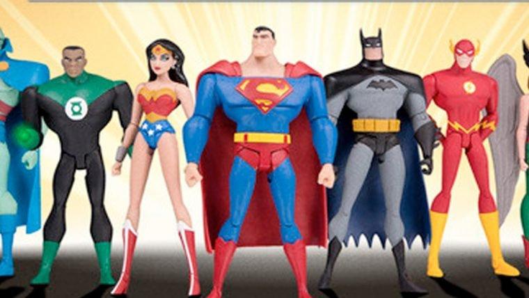 Liga da Justiça | Animação terá coleção limitada de action-figures