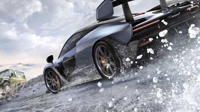 Conheça as locações geladas de Forza Horizon 4 em novo vídeo de gameplay