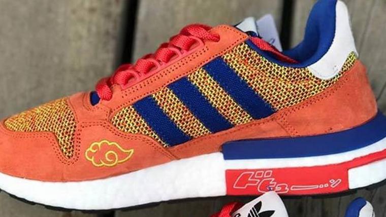 Podemos pressentir a falência com esses tênis de Dragon Ball Z da Adidas