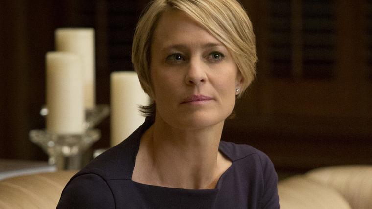 House of Cards   Robin Wright se encontrou com executivos da Netflix para salvar a série