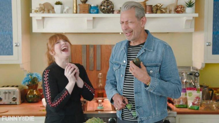 Aprenda a cozinhar com Jeff Goldblum e Bryce Dallas Howard!