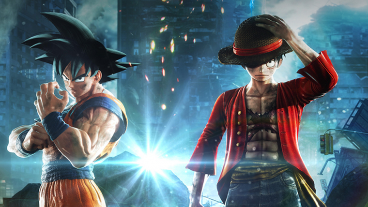 Jump Force, Soul Calibur VI e Code Vein estarão jogáveis na Anime Friends 2018
