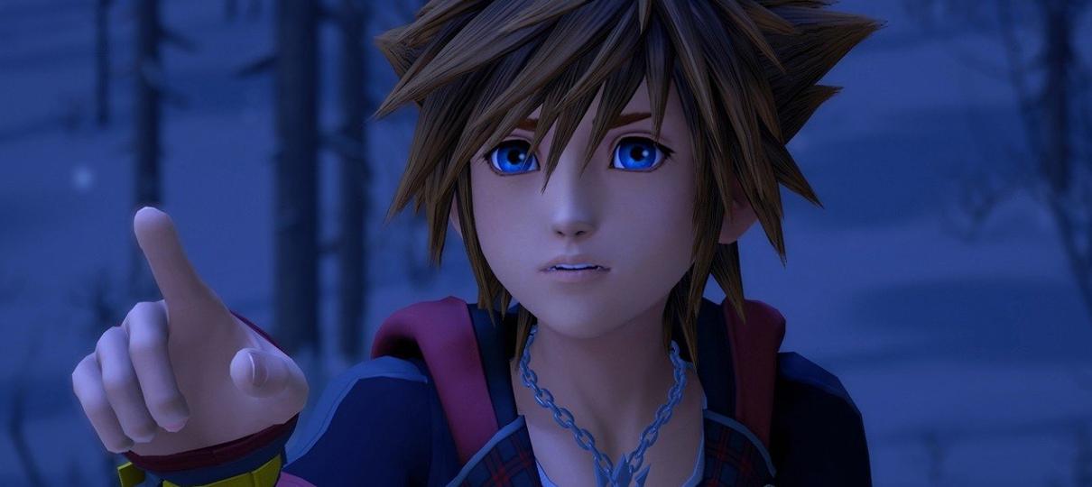Kingdom Hearts 3 terá mais de 80 horas de conteúdo jogável