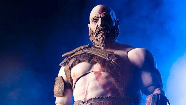 God of War | Kratos está pronto para o ataque nessa action-figure incrível