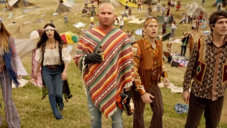 Legends of Tomorrow | Heróis se vestem como hippies em trailer da quarta temporada