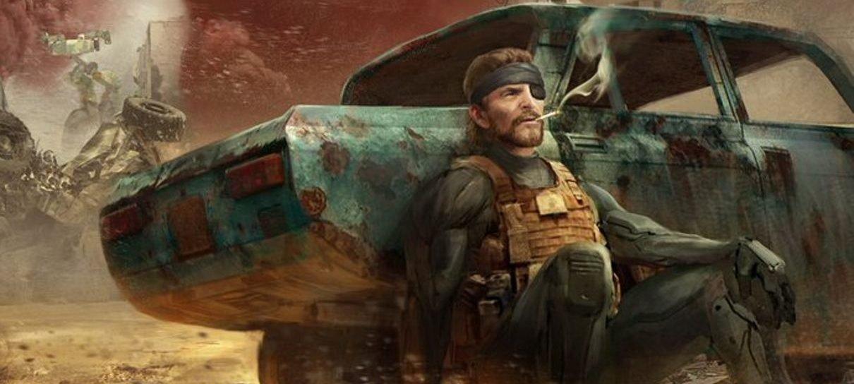 Metal Gear Solid   Diretor compartilha novas artes conceituais do filme