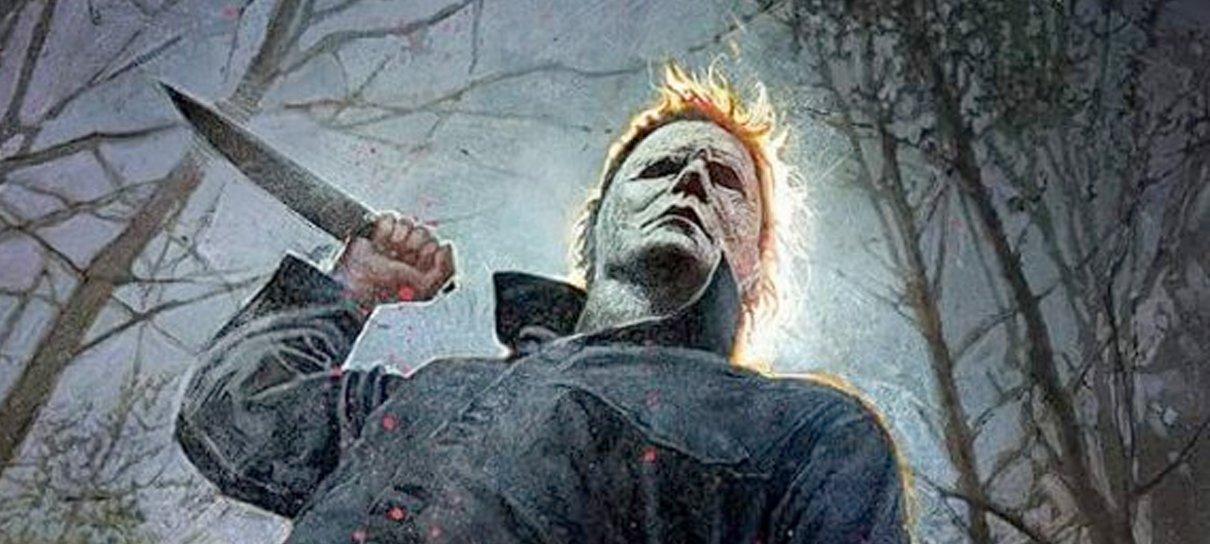 Halloween | Bill Sienkiewicz desenha pôster exclusivo da SDCC