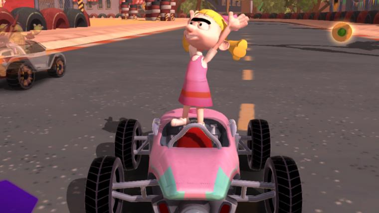 Novo jogo ao estilo de Mario Kart reúne personagens da Nickelodeon!