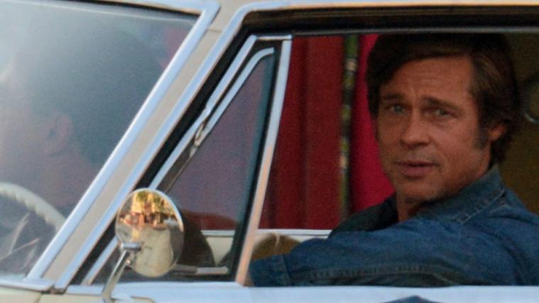 Brad Pitt estrela fotos dos bastidores de Once Upon A Time in Hollywood