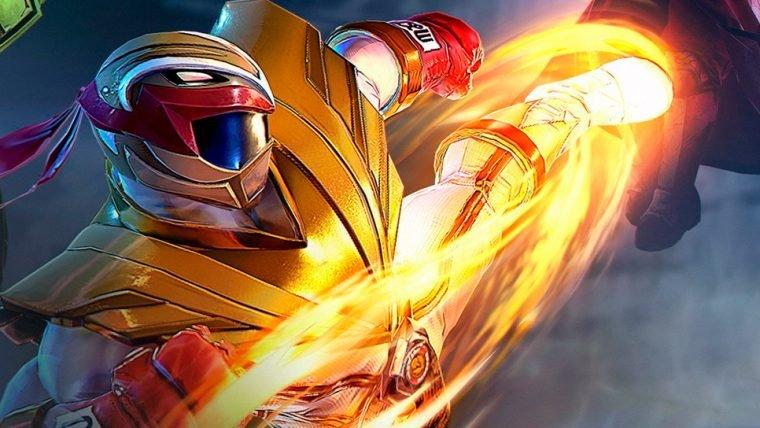 Ryu larga a vida de lutador e se torna Ranger emPower Rangers: Legacy Wars