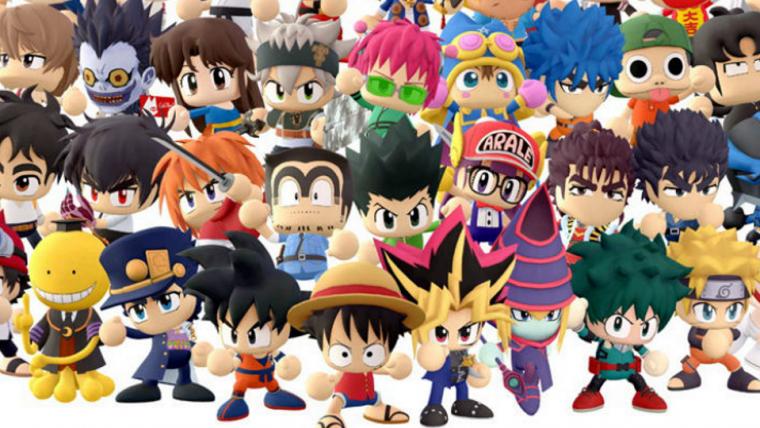 Jogo de luta com personagens da Shonen Jump será lançado para mobile