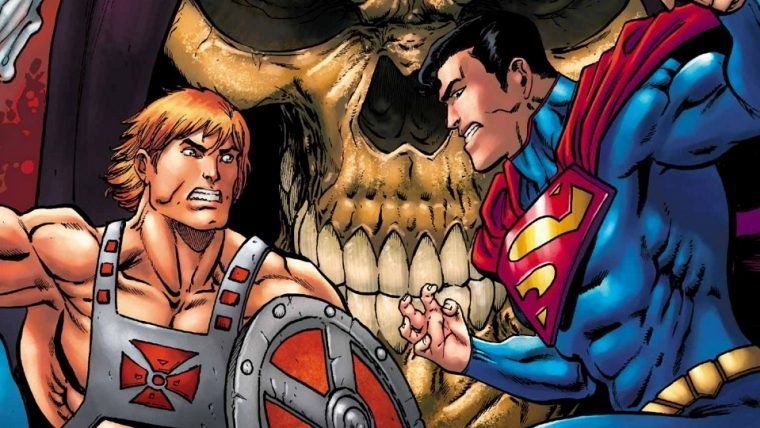 He-Man combate o Superman em nova HQ