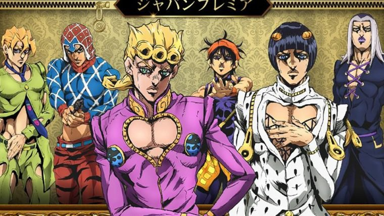 JoJo's Bizarre Adventure | Anime de Golden Wind ganha primeiro teaser