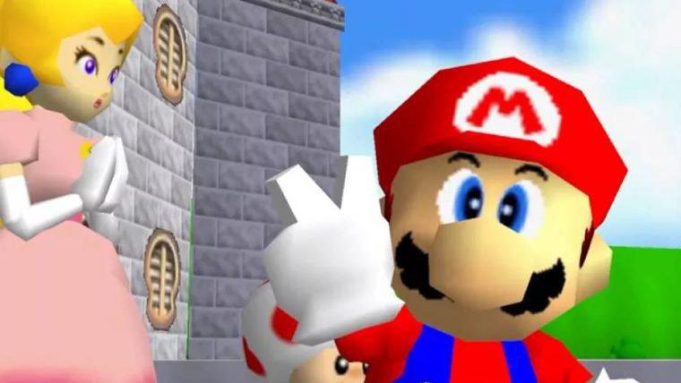 Jogador quebra recorde e termina Super Mario 64 em apenas 6min41s