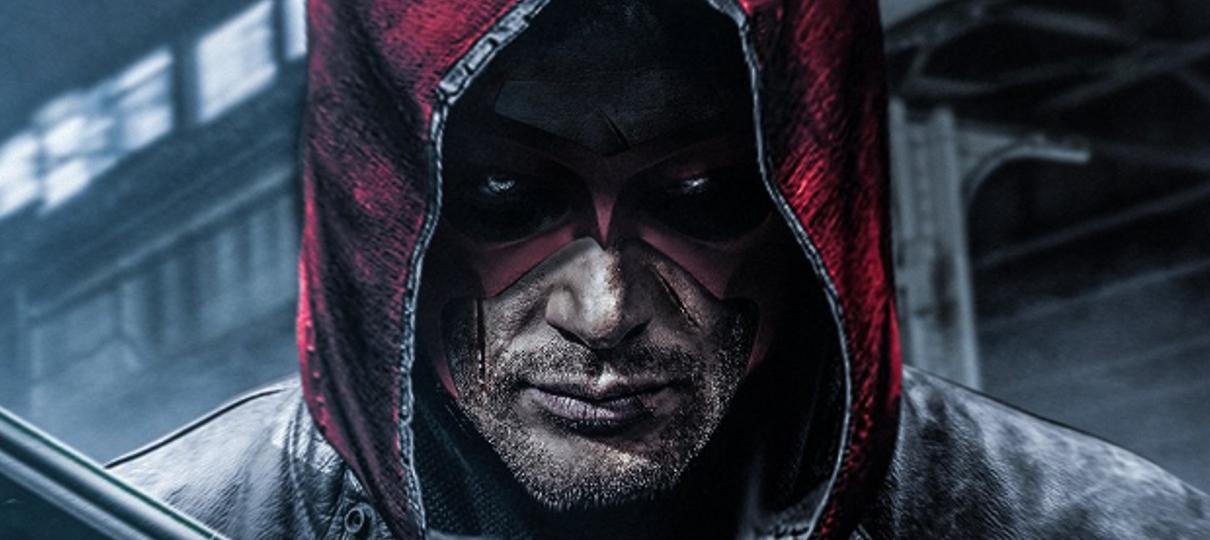Arte imagina Jensen Ackles como Capuz Vermelho