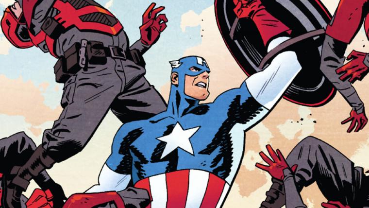Capitão América | Nova coleção reúne fase de Mark Waid