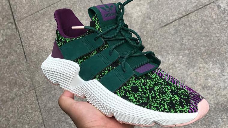 Dragon Ball Z | Fotos mostram detalhes do tênis da Adidas inspirado em Cell