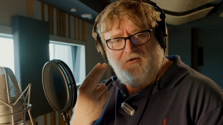 Gabe Newell ainda não consegue falar o número três no novo pacote de voz de Dota 2