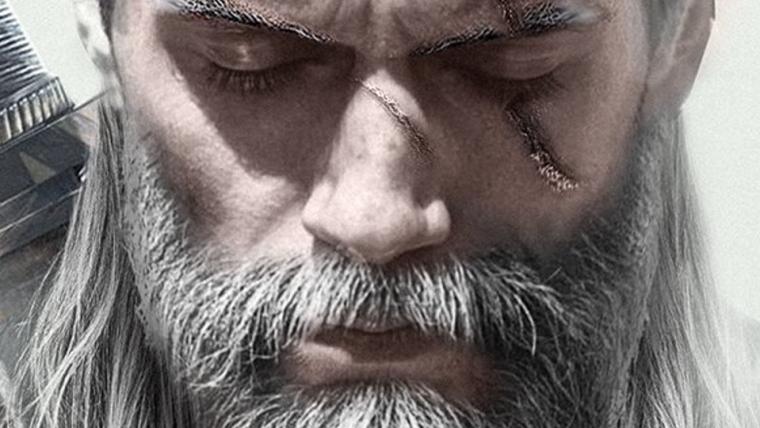 Arte de fã mostra como seria o visual de Henry Cavill de Geralt