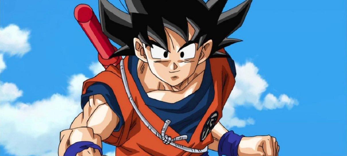 Goku é pelo menos cinco vezes mais forte que o Capitão América