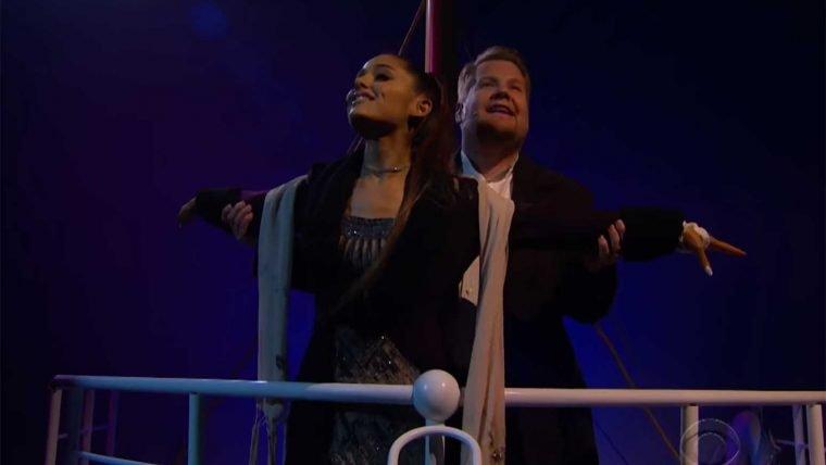 Titanic   James Corden cria versão ao vivo do filme com músicas modernas