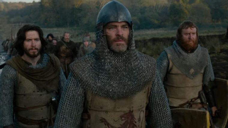 Chris Pine é forçado a entrar em guerra no trailer de Legítimo Rei