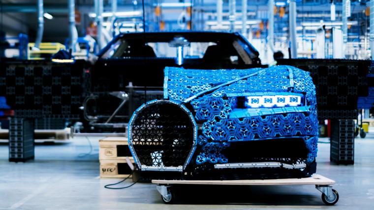 Construíram um Bugatti de LEGO (e ele anda!)