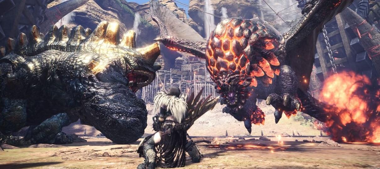 Monster Hunter: World entra no top 5 de mais jogados do Steam