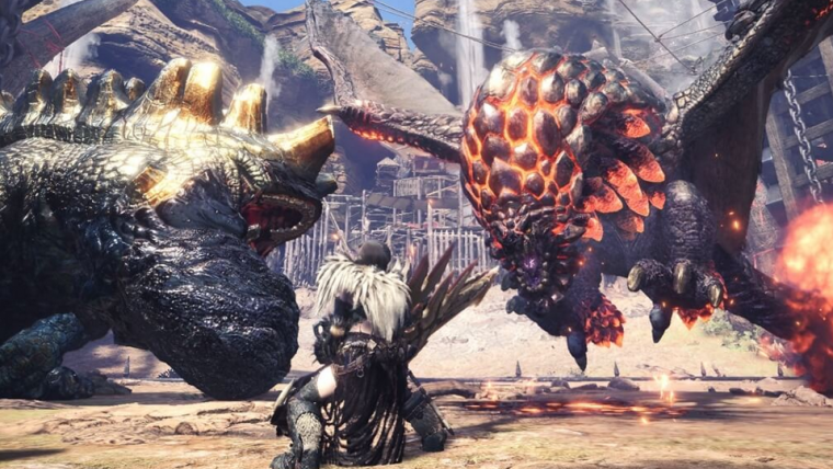 Monster Hunter: World entra no top 5 de mais jogados do Steam